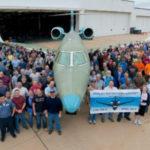 Cessna Aircraft произвела выкатку нового бизнес-джета Citation X